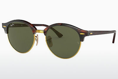 نظارة شمسية Ray-Ban Clubround (RB4246 990) - بني, هافانا