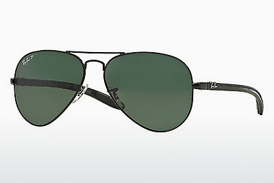 نظارة شمسية Ray-Ban AVIATOR TM CARBON FIBRE (RB8307 002/N5) - أسود