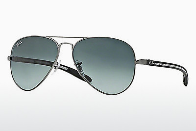 نظارة شمسية Ray-Ban AVIATOR TM CARBON FIBRE (RB8307 029/71) - رمادي
