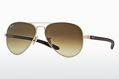 نظارة شمسية Ray-Ban AVIATOR TM CARBON FIBRE (RB8307 112/85) - ذهبي