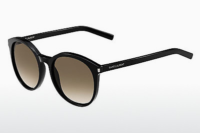 نظارة شمسية Saint Laurent CLASSIC 6 807/HA - بني, أسود