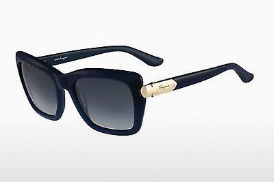 نظارة شمسية Salvatore Ferragamo SF763S 416 - أخضر, Dark, Blue