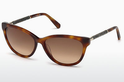 نظارة شمسية Swarovski SK0131 53F - هافانا, Yellow, Blond, Brown