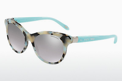 نظارة شمسية Tiffany TF4125 82136V - بني, Beige