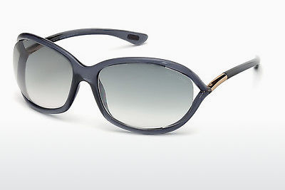 نظارة شمسية Tom Ford Jennifer (FT0008 0B5) - رمادي