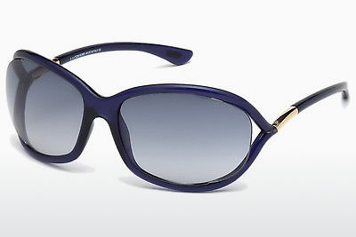 نظارة شمسية Tom Ford Jennifer (FT0008 90W) - أزرق