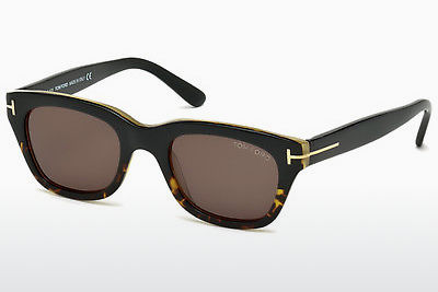 نظارة شمسية Tom Ford Snowdon (FT0237 05J) - أسود