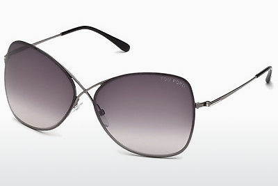 نظارة شمسية Tom Ford Colette (FT0250 08C) - رمادي, Shiny