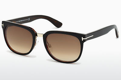 نظارة شمسية Tom Ford Rock (FT0290 01F) - أسود, Shiny