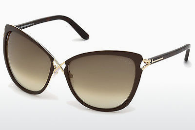 نظارة شمسية Tom Ford Celia (FT0322 28F) - ذهبي