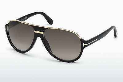 نظارة شمسية Tom Ford Dimitry (FT0334 01P) - أسود, Shiny