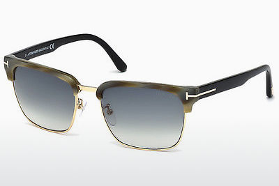 نظارة شمسية Tom Ford River (FT0367 60B) - عاجي, Horn