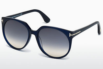 نظارة شمسية Tom Ford Agatha (FT0370 89W) - أزرق, Turquoise