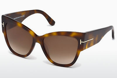 نظارة شمسية Tom Ford Anoushka (FT0371 53F) - هافانا, Yellow, Blond, Brown