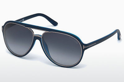 نظارة شمسية Tom Ford Sergio (FT0379 89W) - أزرق, Turquoise