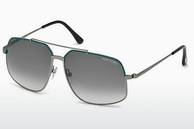 نظارة شمسية Tom Ford Ronnie (FT0439 88B) - أزرق, Turquoise, Matt