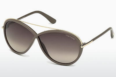 نظارة شمسية Tom Ford Tamara (FT0454 59K) - عاجي, Beige, Brown