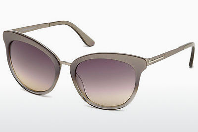 نظارة شمسية Tom Ford FT0461 59B - عاجي, Beige, Brown