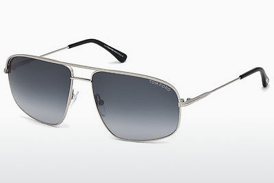 نظارة شمسية Tom Ford FT0467 17W - رمادي, Matt, Palladium