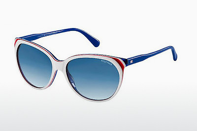 نظارة شمسية Tommy Hilfiger TH 1315/S VN6/08 - أبيض, أحمر, أزرق
