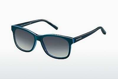 نظارة شمسية Tommy Hilfiger TH 1985 UCT/HD - أخضر, Teal