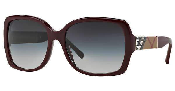 Burberry BE4160 34038G GRAY GRADIENTBORDEAUX