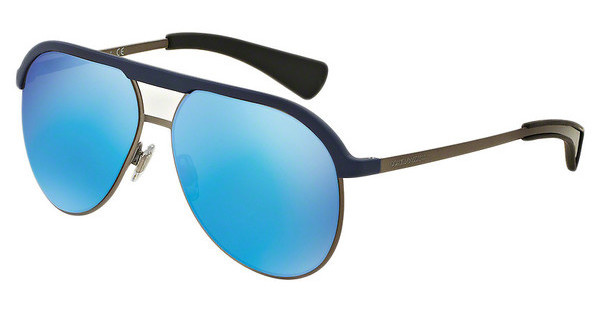 Dolce & Gabbana DG6099 301725 LIGHT GREEN MIRROR BLUEMATTE BLUE/MATTE GUNMETAL