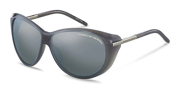 Porsche Design P8602 D light blue, silver mirroredlight grey