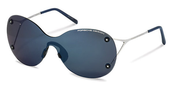 Porsche Design P8621 D dark blue mirror shields