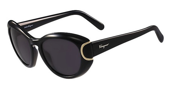 Salvatore Ferragamo SF818S 001 BLACK