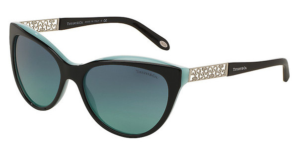 Tiffany TF4119 80559S AZURE GRADIENT BLUEBLACK/BLUE