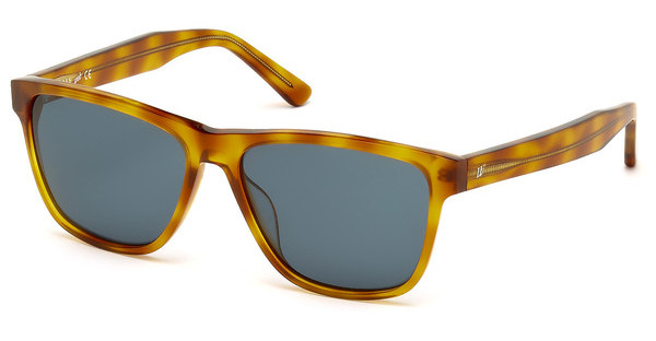 Web Eyewear WE0161 53V blauhavanna blond
